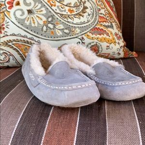 Ugg slippers. Grey. Size 7!